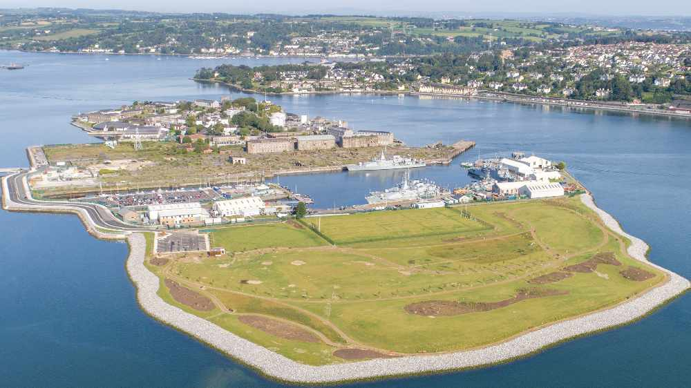 Haulbowline Island Amenity Park in Ringaskiddy is open to the public from today