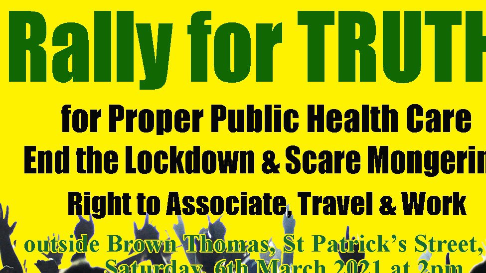 Organisers of tomorrow's Rally for Truth in the city refuse Garda request to cancel the event
