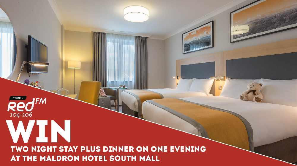 Win a 2 night B&B stay at the 4 star Maldron Hotel South Mall with dinner on one evening!