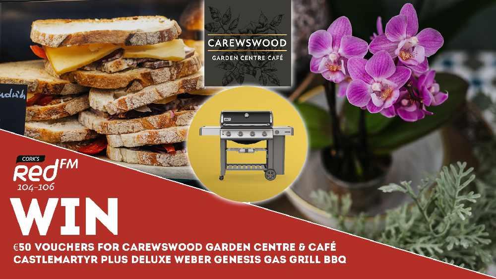 Win €50 vouchers for Carewswood Garden Centre & Café, Castlemartyr plus Super Deluxe Weber Genesis Gas Grill BBQ worth €1,500!