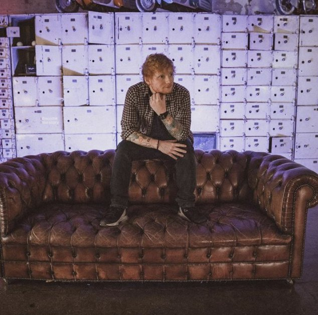 Ed Sheeran's first-ever album goes up for auction