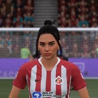 Dua Lipa is on FIFA 21