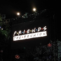 Friends: The Reunion has been filmed